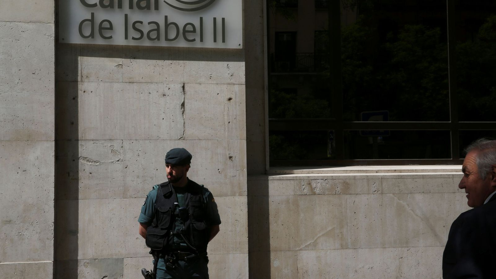 Foto: Sede del Canal de Isabel II. (Reuters)