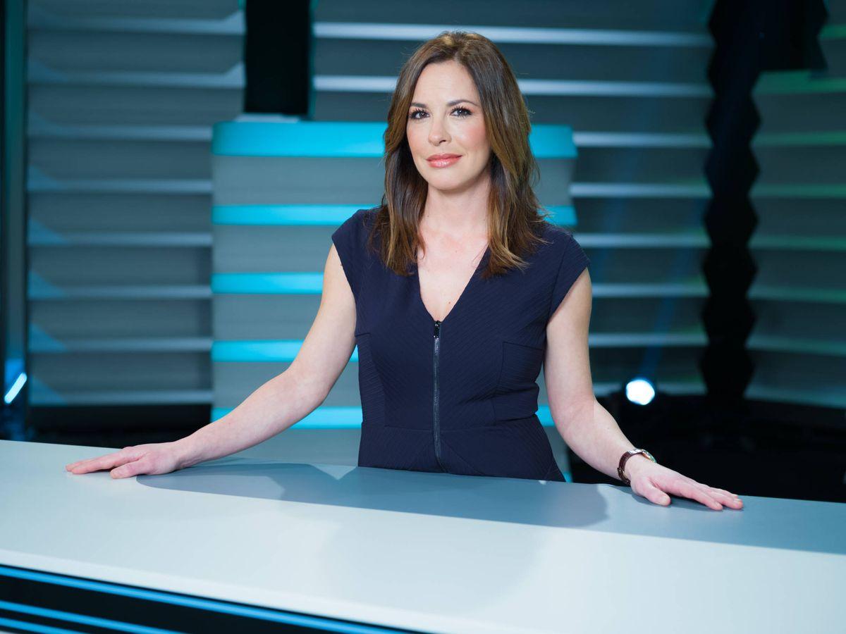 Foto: Mamen Mendizábal, presentadora de 'Palo y astilla'. (Roberto Garver)