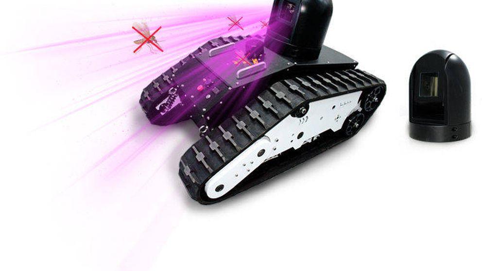 LEDs y tanques láser: las formas más ingeniosas de acabar con las plagas