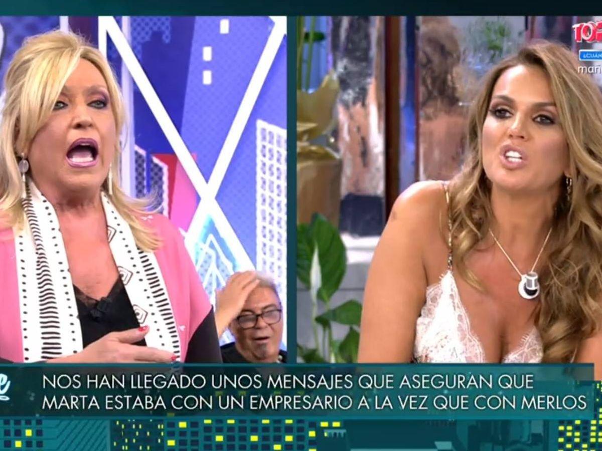 Foto: Lydia Lozano y Marta López. (Telecinco).