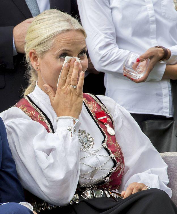Foto: La princesa Mette-Marit en el acto celebrado este jueves (Gtres)