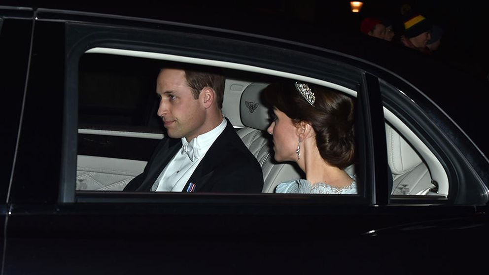 La duquesa de Cambridge luce por primera vez la tiara favorita de Lady Di
