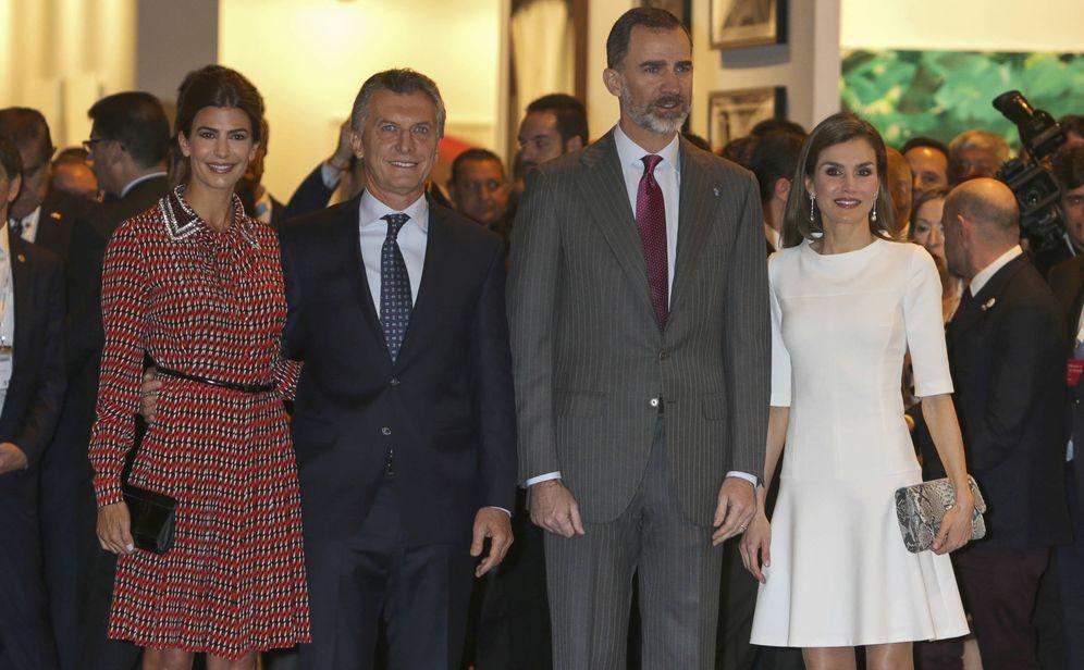 Foto: Los Reyes se citan con Macri y Awada en ARCO mientras Urdangarin conoce si entra en prisión