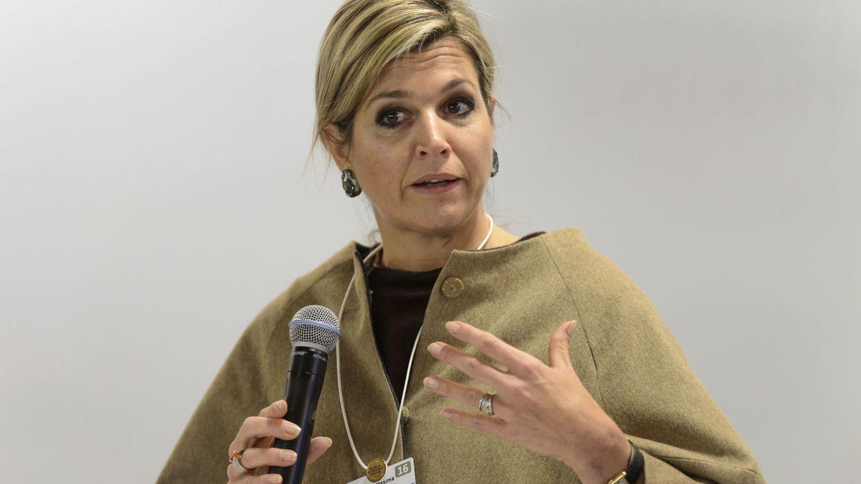 Foto: La reina de Holanda durante el Foro de Davos (Gtres)