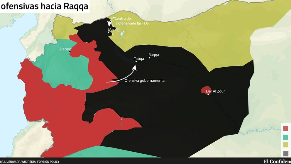 Cerco a la capital del Estado Islámico