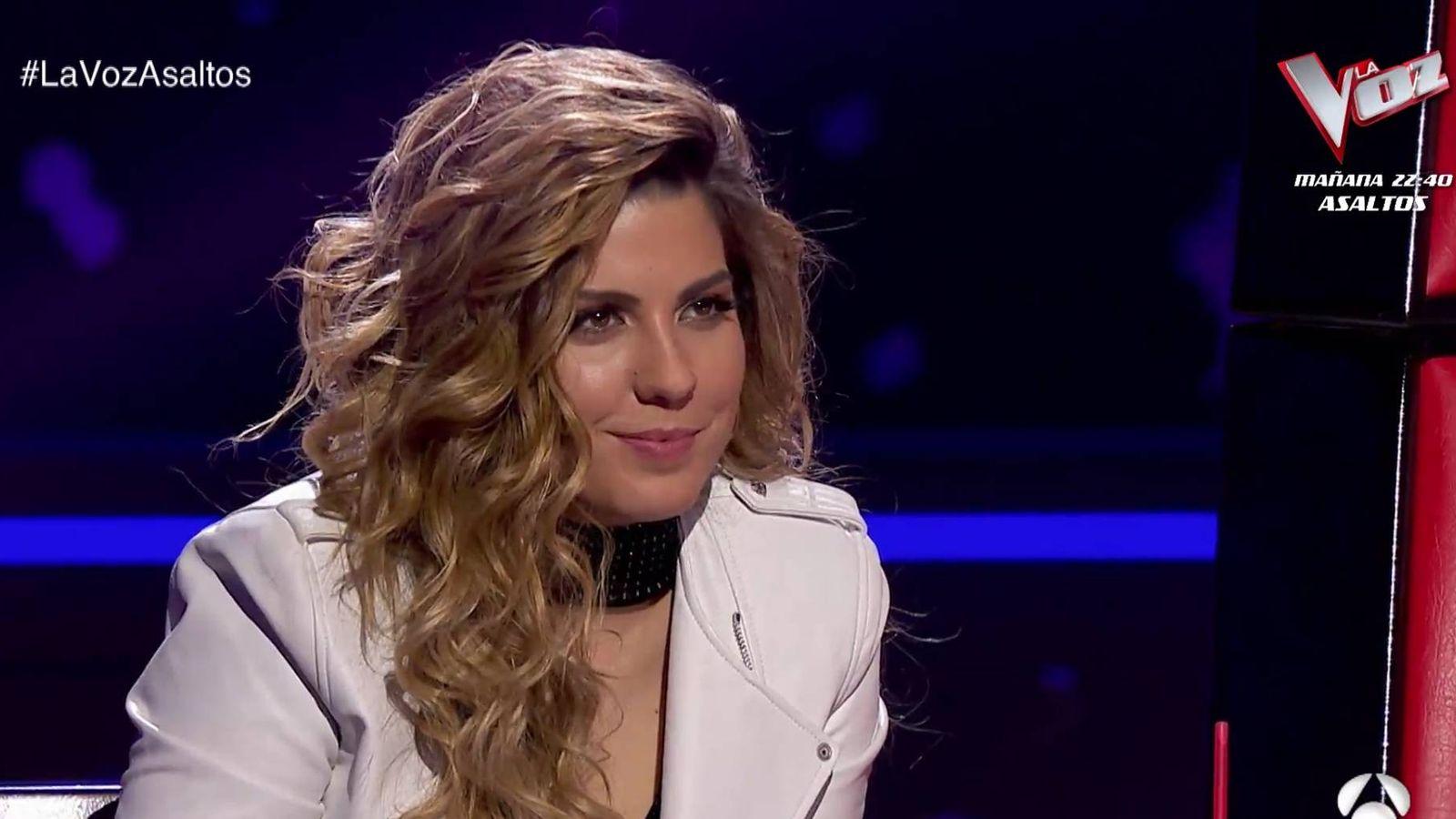 Foto: Miriam Rodríguez en 'La Voz'. (Atresmedia Televisión)