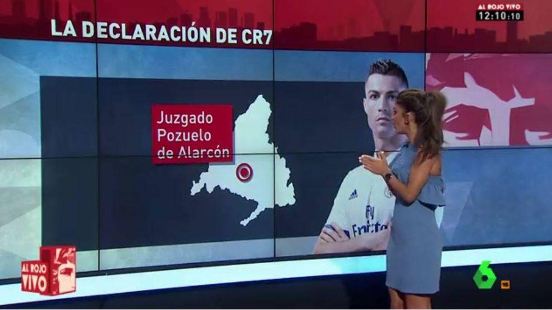 Desde 'Al rojo vivo' tratan el tema de Cristiano Ronaldo en los juzgados.