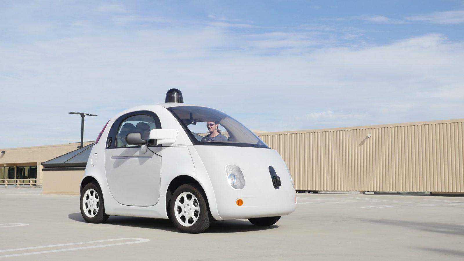 Foto: El coche autónomo de Google