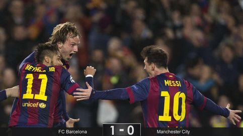 Messi vuelve a reinventar el fútbol y Hart evita la goleada del Barcelona