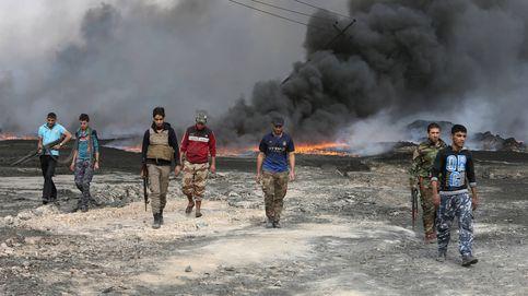 El mal tiempo y los civiles en fuga detienen el avance sobre Mosul