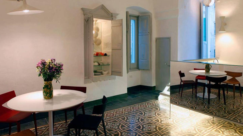 Un rinconcito de este apartamento en la bella Apulia.