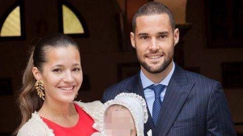 Malena Costa y Mario Suárez celebran el bautizo de su hija Matilda