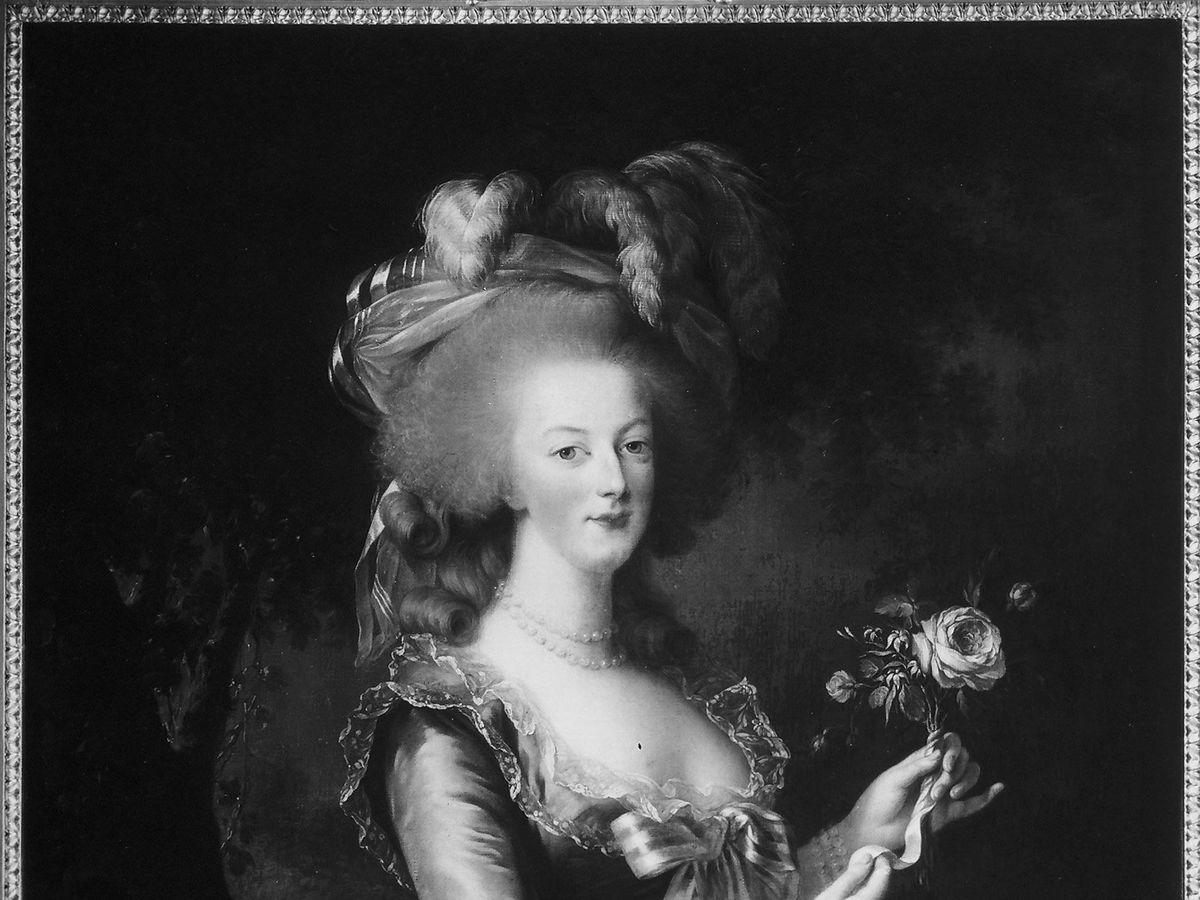Foto:  Retrato de María Antonieta. (CP)