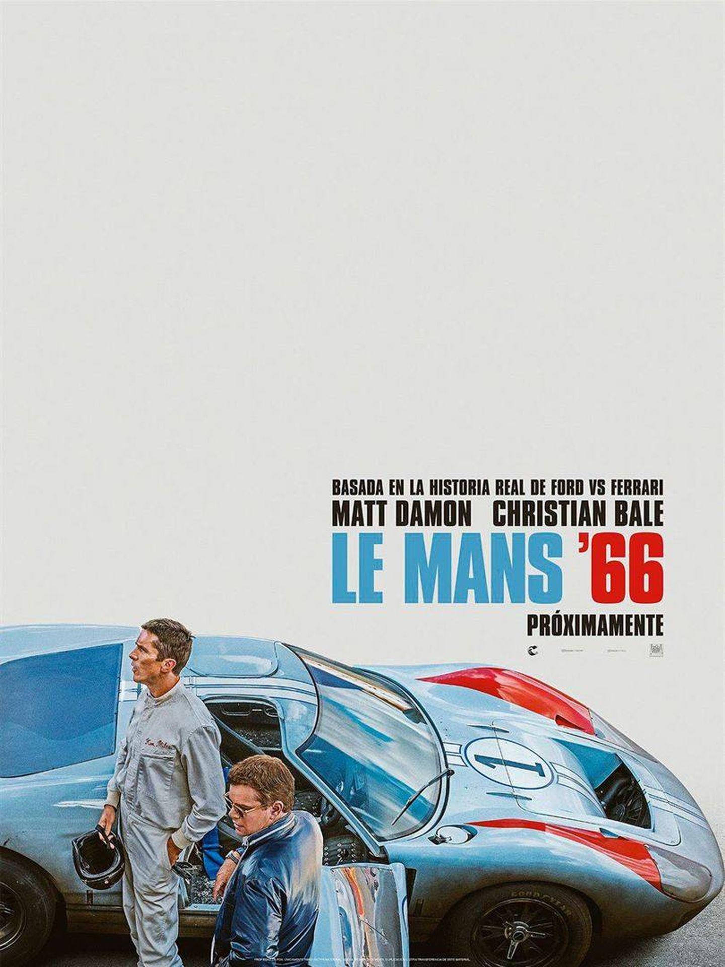 Cartel de 'Le Mans '66'
