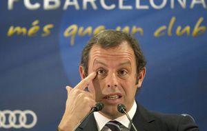 Sandro Rosell defiende que el Barcelona no sea la 'casa de los líos'