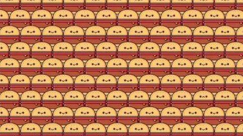 Acertijo viral: ¿eres capaz de encontrar las tres hamburguesas diferentes?