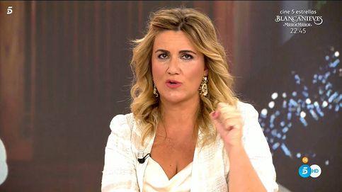 Carlota Corredera da la cara por Tele 5 tras las críticas por la distancia social