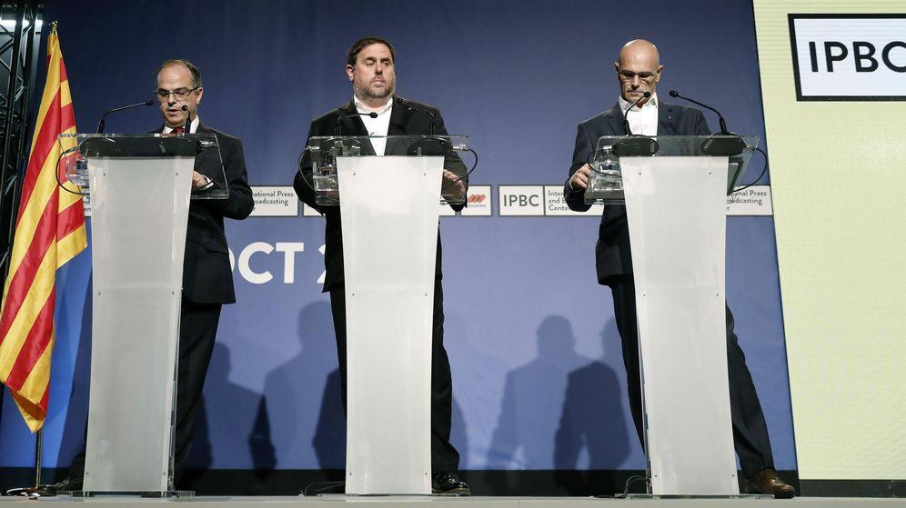 Foto: La Generalitat mantiene en la sombra los detalles operativos a 48 horas del referéndum. (EFE)