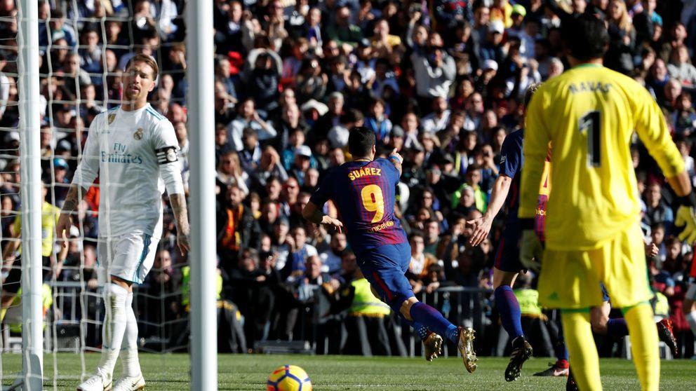 El ángulo curioso del Madrid - Barcelona