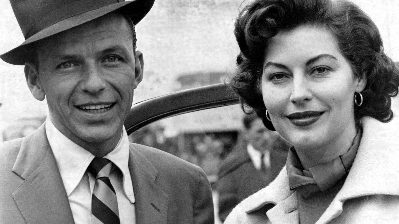 Sinatra y Ava Gardner, en 1953. (CP)