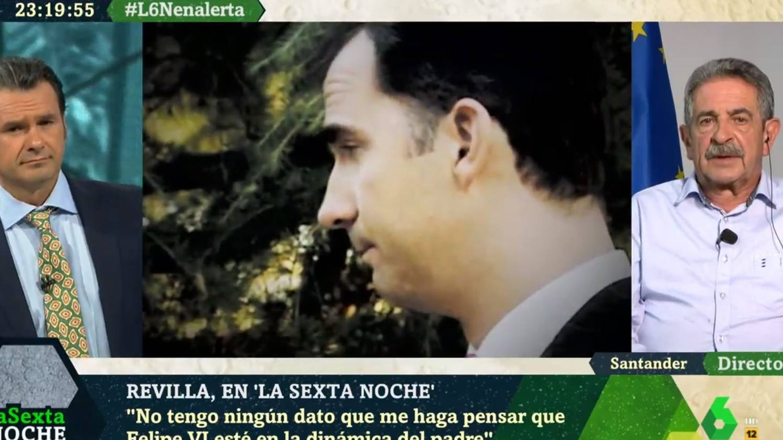 Revilla opinando sobre la monarquía española. (La Sexta).