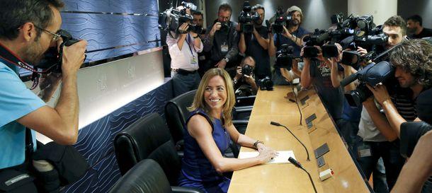 Foto: Chacón deja el escaño pero volverá para pelear por el liderazgo del PSOE