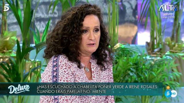 Dulce criticando a Anabel Pantoja. (Telecinco).