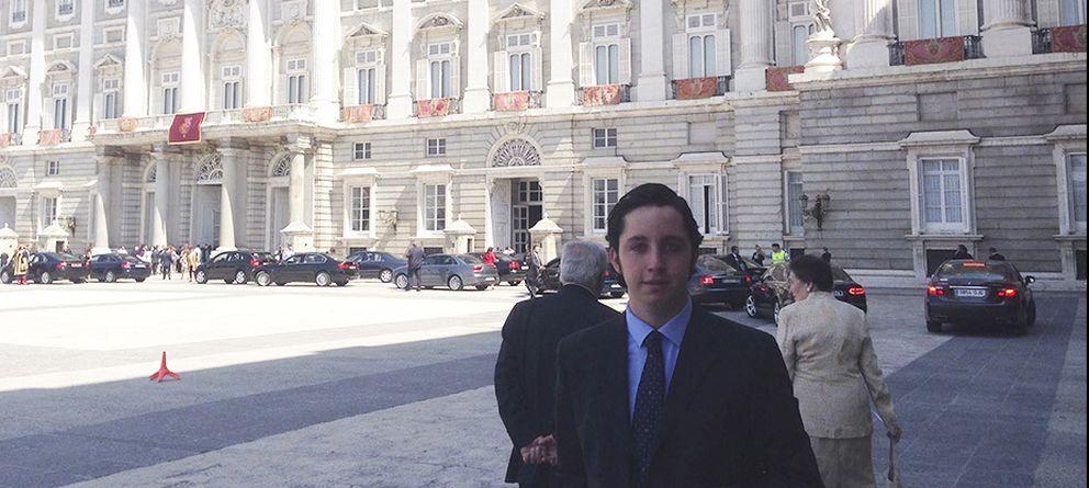 Foto: Francisco Nicolás Gómez Iglesias en la ceremonia de coronación.