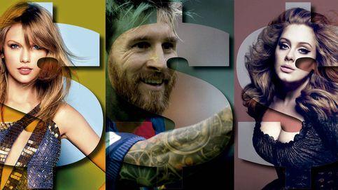 Taylor Swift, One Direction, Messi, Adele… Los menores de 30 años que más ganan según Forbes