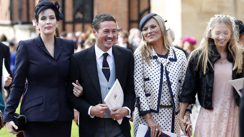 Kate Moss no se perdió el fiestón de la boda de Eugenia: te lo contamos todo