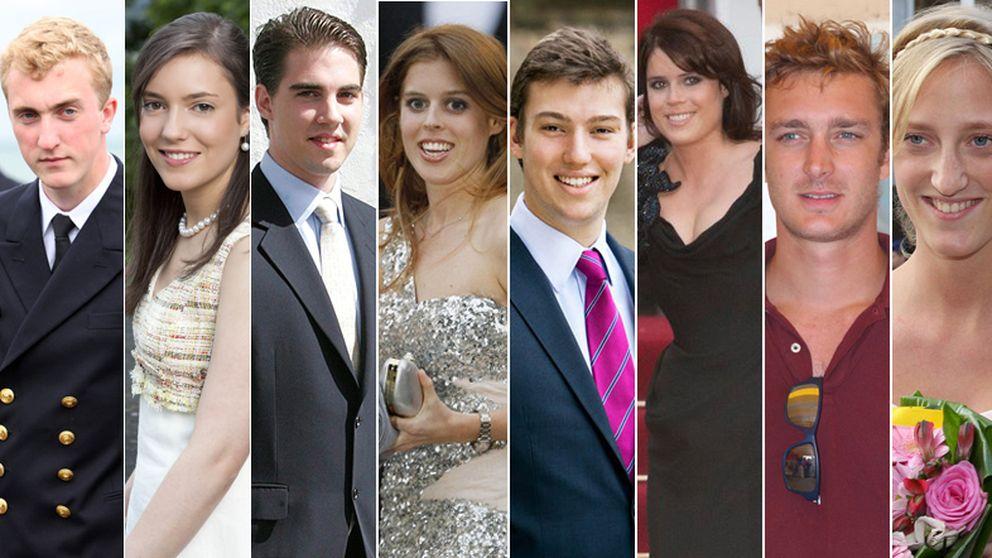 Los diez solteros de la realeza europea