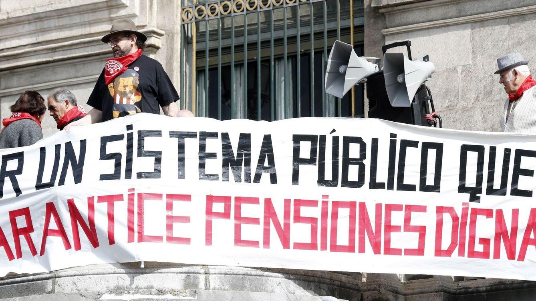 La pensión media sube como los años de la burbuja pero con la mitad de inflación
