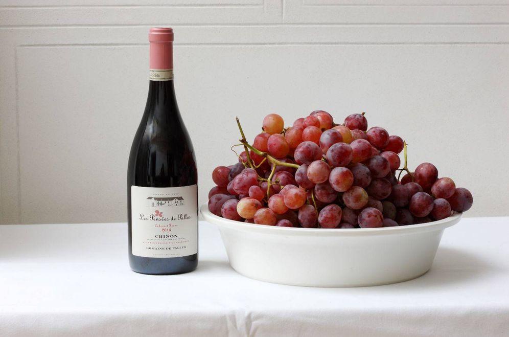 Foto: Otoño de vino y uvas. Perfecto.