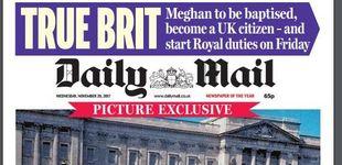 Post de Las vueltas del destino: Meghan, de posar como turista en Buckingham a convertirse en royal