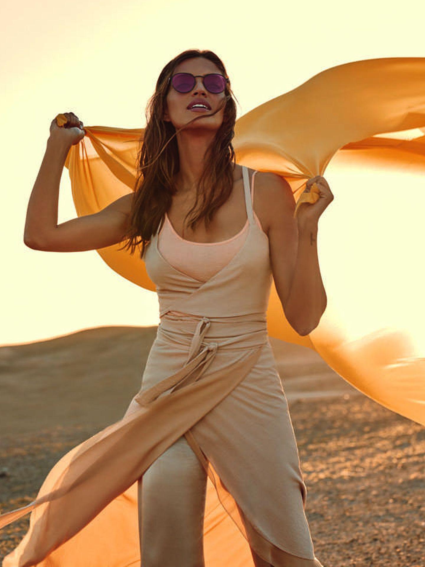 Sara Carbonero. (Polaroid)