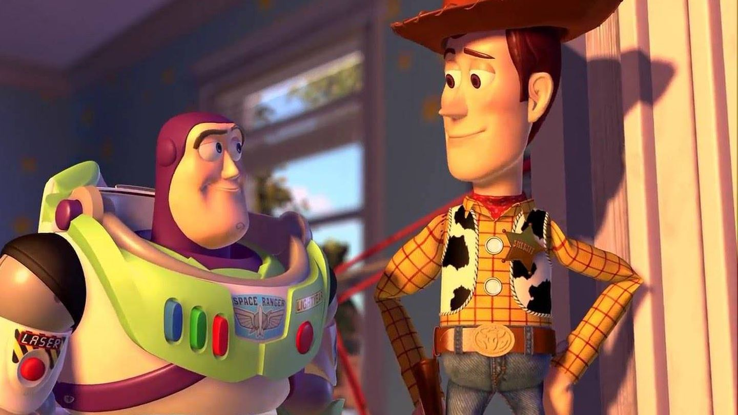 'Toy Story' (1995).