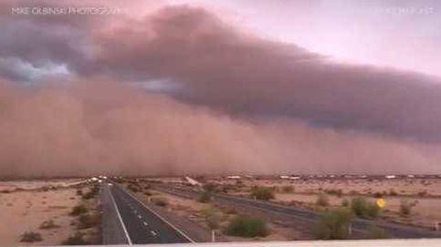 Increíble tormenta de arena en Arizona