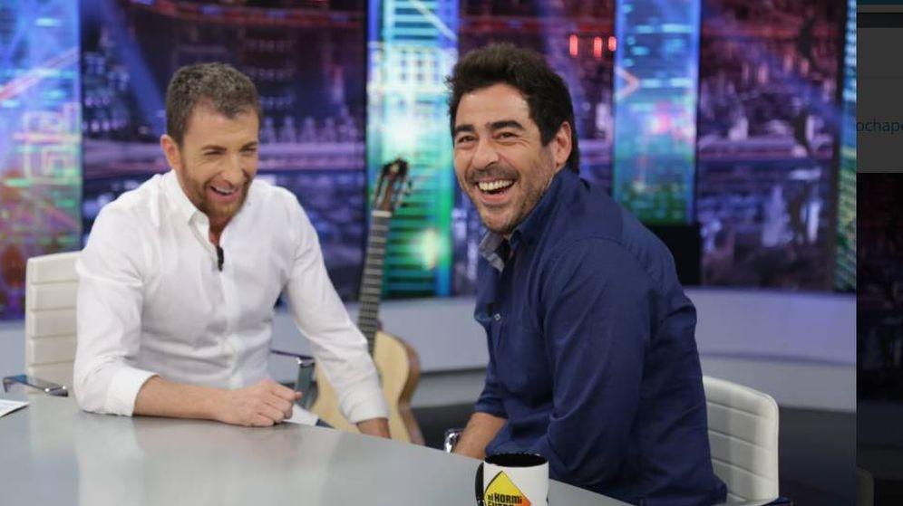 Foto: Pablo Motos y Pablo Chiapella en 'El Hormiguero'. (Twitter)