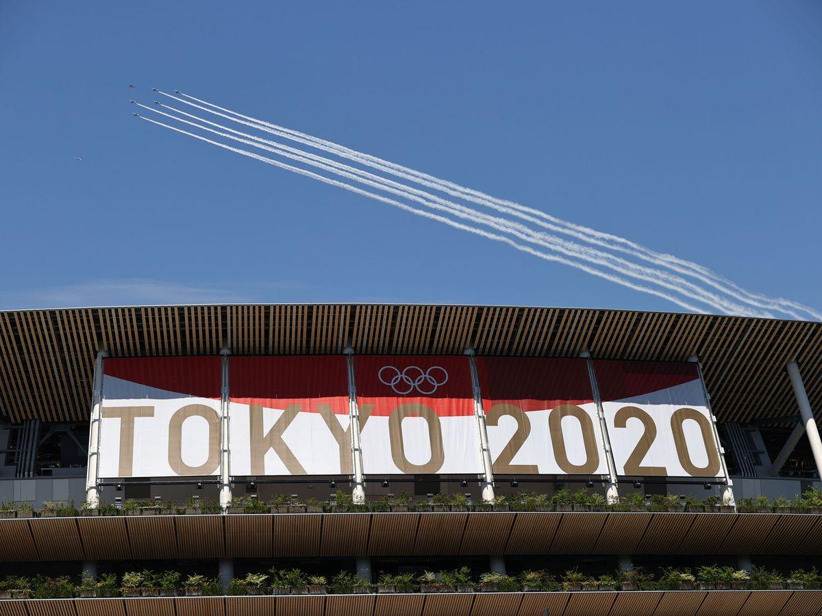 Foto: El estadio olímpico donde tendrá lugar la ceremonia inaugural de los Juegos de Tokio 2020 (Reuters)