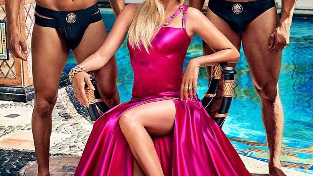 Foto: Penélope Cruz como Donatella Versace.