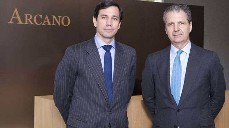 Álvaro de Remedios y Jaime Carvajal, presidente y consejero delegado de Arcano respectivamente.