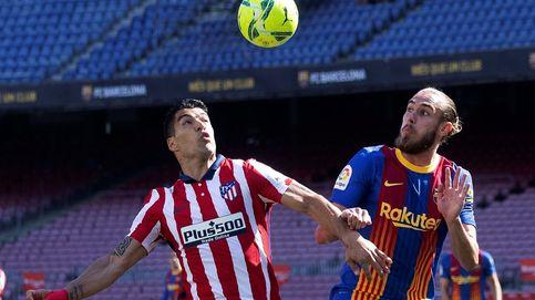 El Atlético no marca en Barcelona y el Madrid depende de sí mismo para ganar la Liga (0-0)
