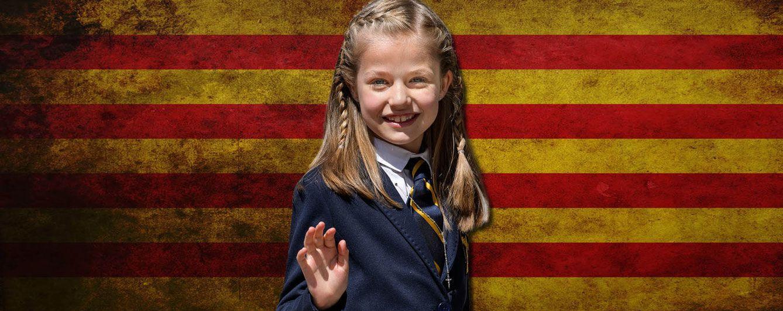 Foto: La princesa Leonor de Asturias en un fotomontaje realizado en Vanitatis