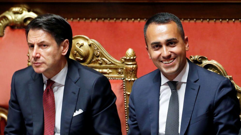 Foto: Giuseppe Conte y Luigi Di Maio. (Reuters)