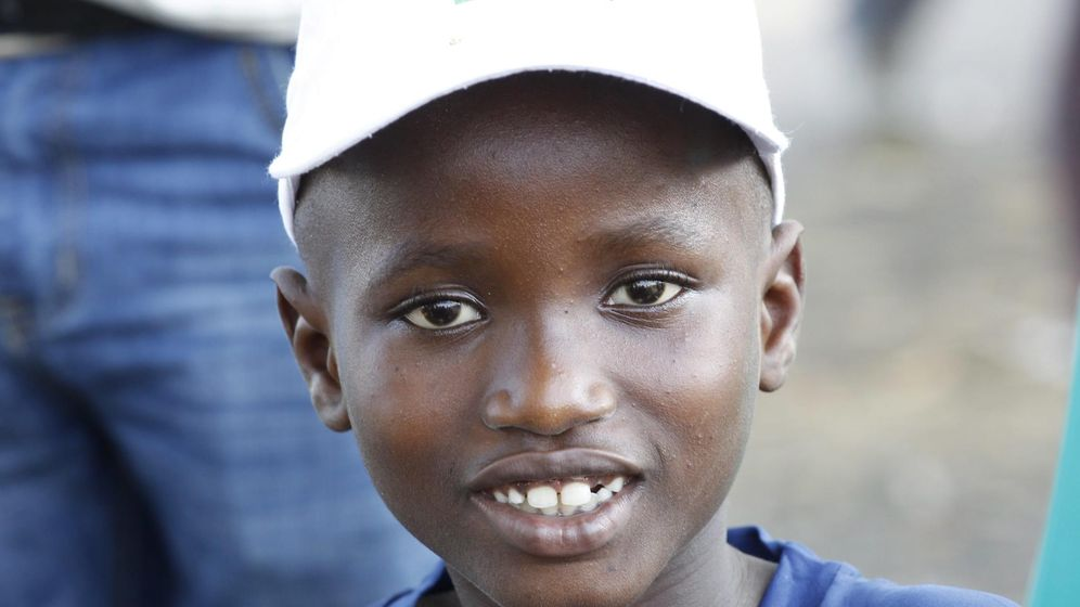 Foto: Uno de los supervivientes del ébola en Liberia, Abraham Gbotoe, de 10 años (EFE)