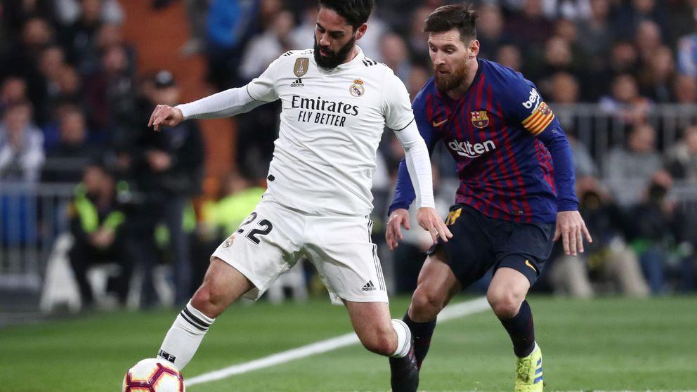 La sombra del Barcelona planea sobre Isco (y lo difícil que sería negociar con el Madrid)