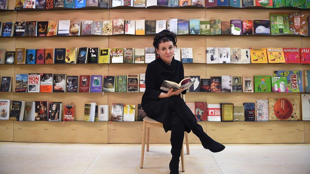 Foto: La escritora polaca Olga Tokarczuk, ganadora del Premio Nobel de Literatura (EFE)