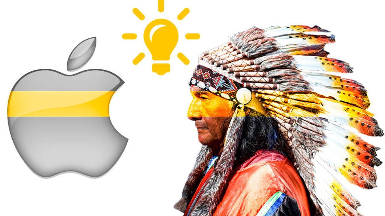 Una reserva india contra Apple: el último delirio de las patentes
