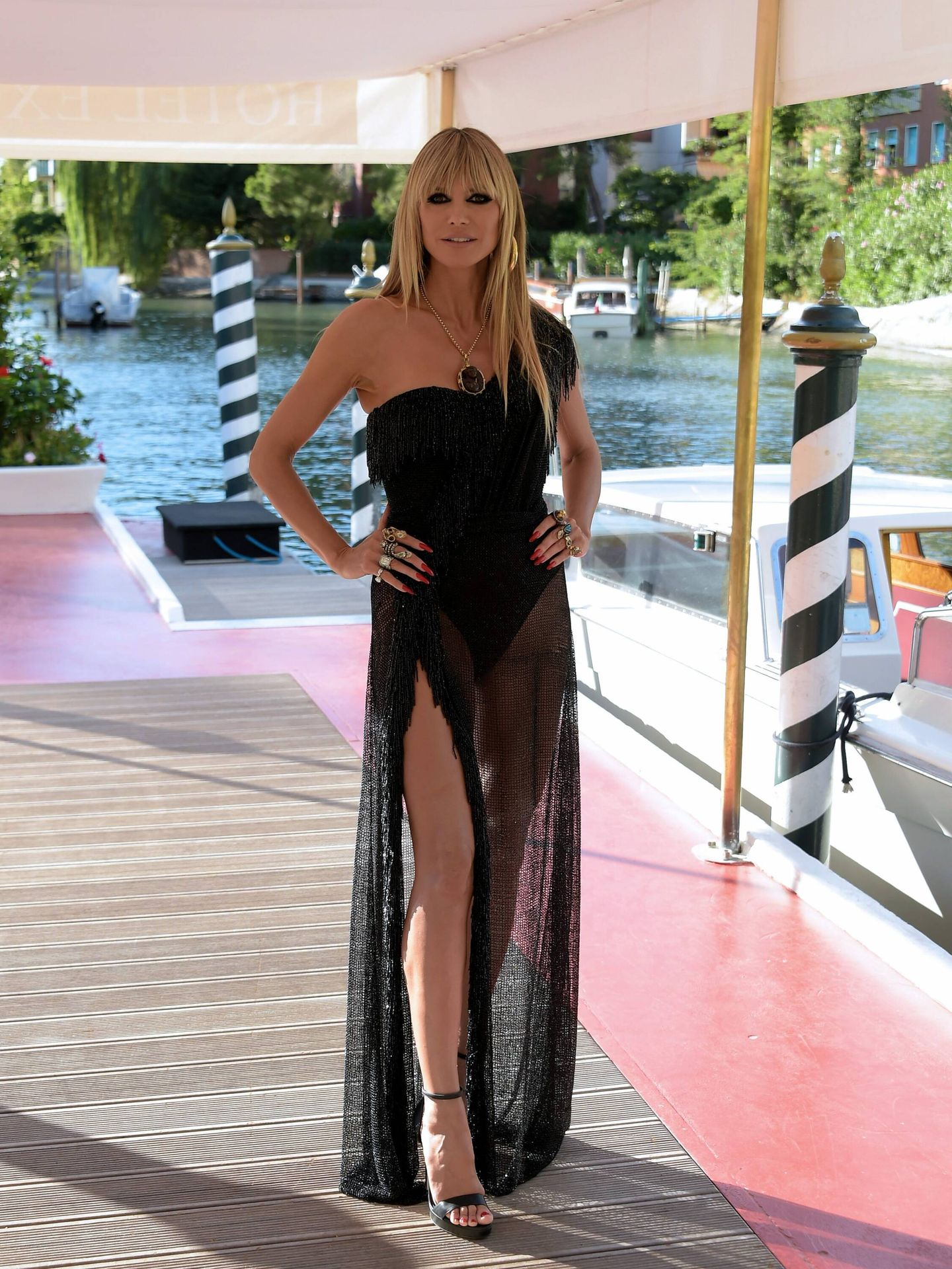 Heidi Klum. (Dolce & Gabbana)