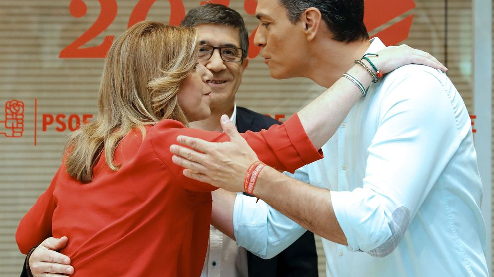 Primarias del PSOE: todas las imágenes del debate entre Díaz, Sánchez y López